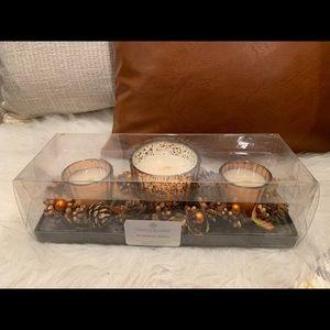 Pumpkin Spice Chesapeake Bay Candle Set NEW